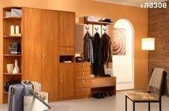 Прихожая Глазовская мебельная фабрика Прихожая Комфорт 6 (вишня)