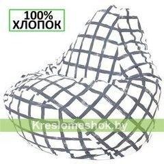 Бескаркасное кресло Бескаркасное кресло Kreslomeshok.by Груша Г2.6-10 Клетка