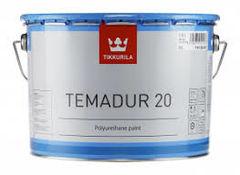 Краска Краска Tikkurila ТЕМАДУР 20 двухкомпонентная 2,25 л