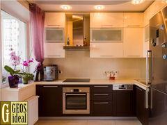 Кухня Кухня Geosideal Лимба (Венге + МДФ крашенный)