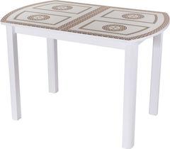 Обеденный стол Обеденный стол Домотека Танго ПО-1 (БЛ ст-71 04) 80x120(157)x75