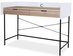 Письменный стол Signal B-181 (дуб/черный)