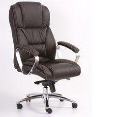 Офисное кресло Офисное кресло Halmar Foster (темно-коричневое)