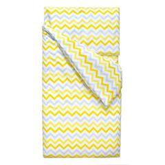 Постельное белье Постельное белье Martoo Comfy B (жёлто-серый зигзаг)