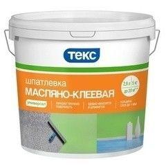 Шпатлевка Шпатлевка Текс Масляно-клеевая Универсал 5 кг