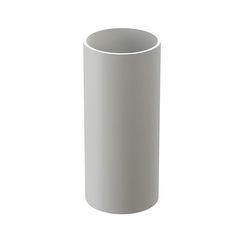Водосточная система Docke Premium труба водосточная 3м (пломбир)
