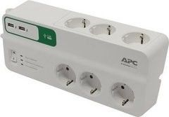 Удлинитель Schneider Electric Сетевой фильтр APC SurgeArrest  (PM6U-RS)