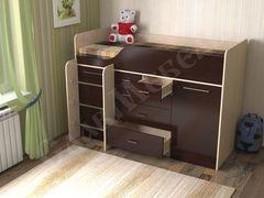 Двухъярусная кровать СлавМебель Кузя-8