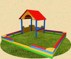 PlayComplex Песочница с домиком