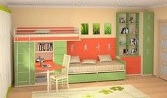 Детская комната Детская комната SoftForm Силуэт 15