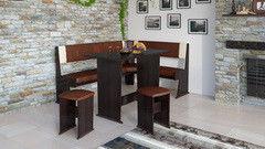 Кухонный уголок, диван ТриЯ Амиго МФ-104.001 (груша Монтего)
