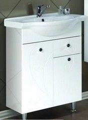 Мебель для ванной комнаты Акватон Тумба-умывальник Лиана 60 М