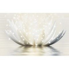 Плитка Бежевая плитка Golden Tile Magic Lotus 250x400 (19Г331)