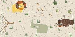 Пробковый пол Corkstyle Adventures \ Children Animals (замковый)