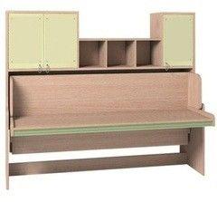Детская кровать Детская кровать Глазовская мебельная фабрика Калейдоскоп 1 (Зелёная Радуга)