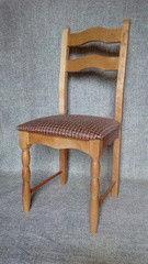 Кухонный стул Ельская мебельная фабрика МД-235.1 рогожка коричневая