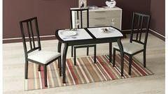 Обеденный стол Обеденный стол ТриЯ Стамбул ПО на деревянных ножках