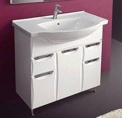 Мебель для ванной комнаты Belux Тумба Coнет-Aрктик H 85