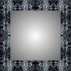 Зеркало Алмаз-Люкс F - 417 (75x75)