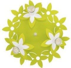 Детский светильник Nowodvorski 6900 Flowers Green III plafon