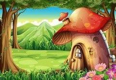 Фотообои Фотообои Vimala Домик-грибок