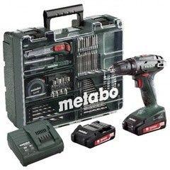 Шуруповерт Шуруповерт Metabo BS 18 Set (602207880)
