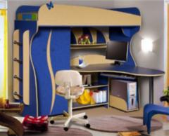 Двухъярусная кровать Калинковичский мебельный комбинат Альфа 3