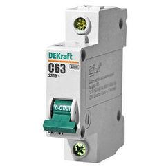 DEKraft Автоматический выключатель ВА101-1P-063A-C (11060DEK)