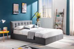 Кровать Кровать Halmar Padva 160 (серый)