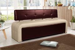 Кухонный уголок, диван ДвериДом Кухонный диван Оскар-2 (венге-беж)
