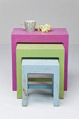 Туалетный столик Kare Side Table Caramella (3/Set) 78712