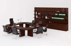 Стол офисный Directoria Mux палисандр для переговоров