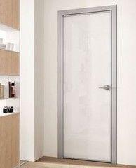Межкомнатная дверь Raumplus из алюминиевого профиля системы SWING 7