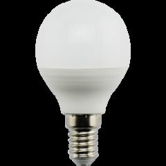 Лампа Лампа Ecola Globe LED Premium 9,0W G45 220V E14 4000K шар (композит) 82x45