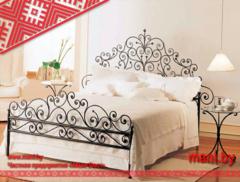 Кровать Кованая кровать Мани Фест Кованая с завитками