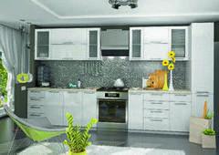 Кухня Кухня ДСВ Мебель Олива белая