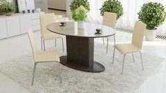 Обеденный стол Обеденный стол ТриЯ Марсель 2 раздвижной со стеклом