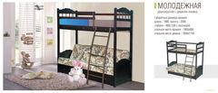 Двухъярусная кровать Симбирск Мебель Молодежная двухъярусная с диваном