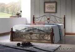 Кровать Кованая кровать Red&Black Вивьен