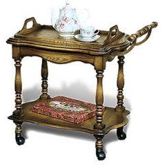 Сервировочный столик Сервировочный столик Гомельдрев Версаль ГМ 5608 (слоновая кость/патинирование)