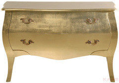 Туалетный столик Kare Dresser Romantic 2SK Gold Leaf Big 73361