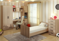 Детская комната Детская комната БелДрев Милания - рисунок Пустыня
