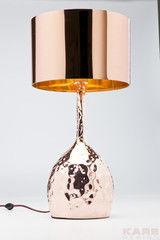 Настольный светильник Kare Table Lamp Rumble Copper 59cm 36604