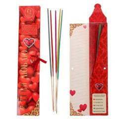 Queen fair Подарочный набор аромапалочек Я тебя люблю 5 шт (1338017)