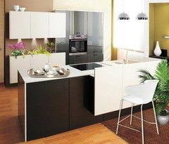 Кухня Кухня ЗОВ Серый металлик-белый