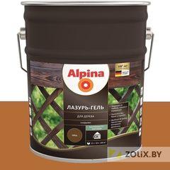 Защитный состав Защитный состав Alpina Лазурь-гель для дерева тик (10 л)