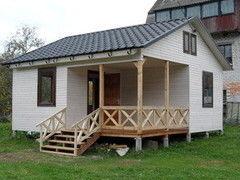 Строительство домов Строительство домов DomPlus Проект дома 4