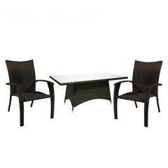 Комплект мебели из ротанга Garden4you WICKER 13333, 12698 (стол и 6 стульев)