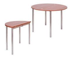 Обеденный стол Обеденный стол Древпром М2 (овально-раскладной)