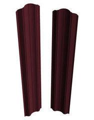 Забор Забор Скайпрофиль Штакетник M-112 Престиж (рифленый) двустороннее покрытие Пэ глянцевый RAL3005